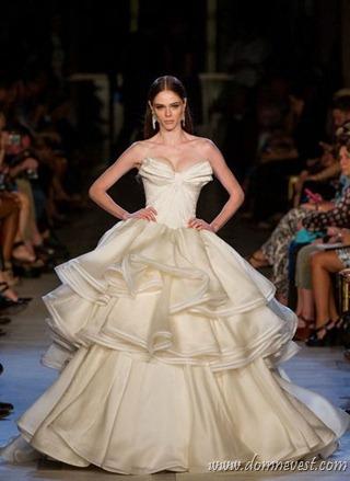 свадебное платье Zac Posen 2013