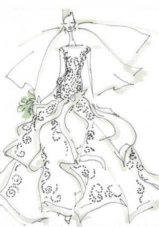 свадебное платье 2013 от Angel Sanchez