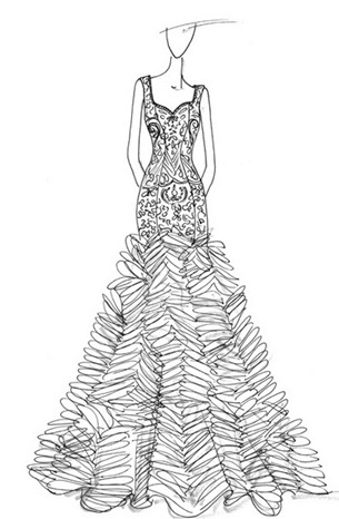 свадебное платье 2013 от Anne Barge