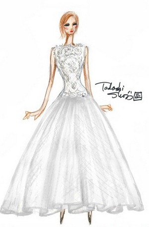 свадебное платье 2013 от Tadashi Shoji
