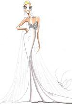 свадебные платья 2013 эскизы