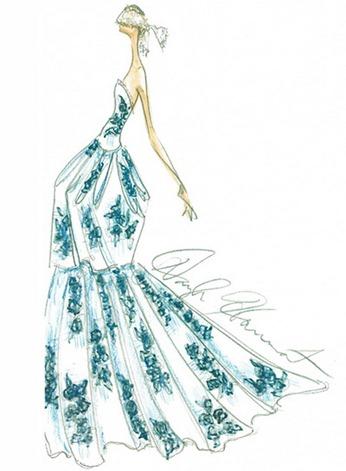 свадебное платье 2013 от douglas hannant