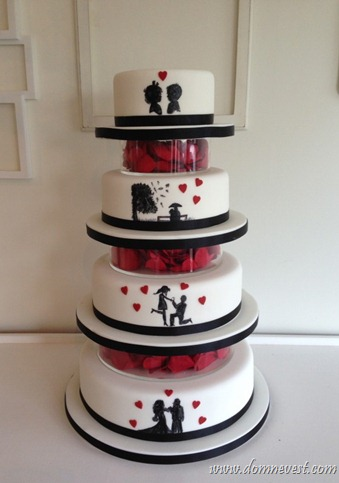торт с историей любви