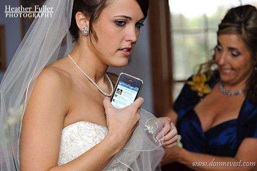 свадьба и социальные сети