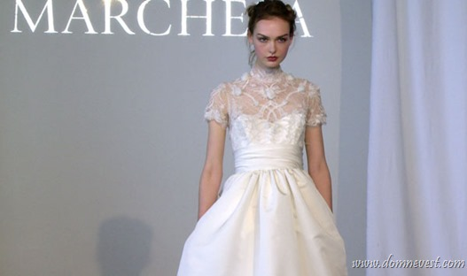 свадебные платья Marchesa 2015