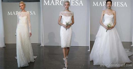платья Marchesa 2015
