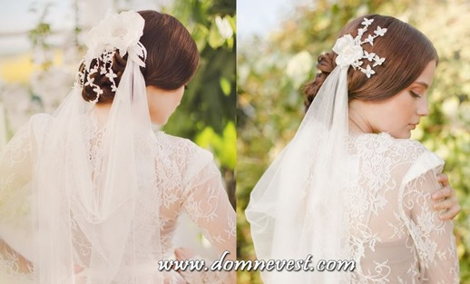 фата невесты 2014