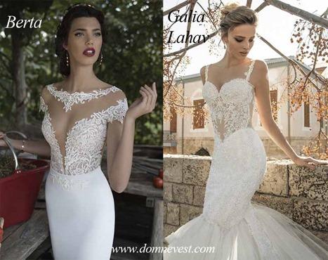 свадебные платья от Galia Lahav и Berta