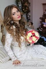 кружево в свадебном образе