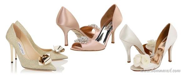 цвет свадебной обуви 2016