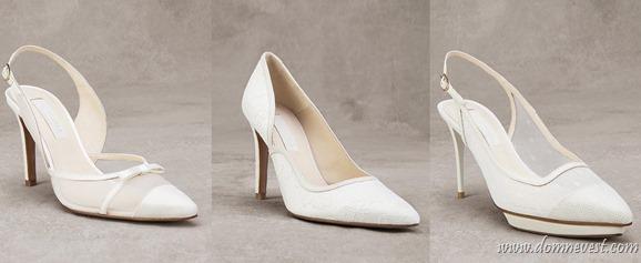 кожаные свадебные туфли