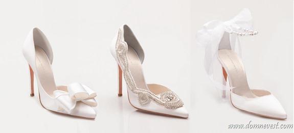 украшение свадебной обуви