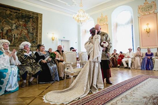 необычная тематическая свадьба