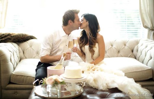 как отметить первый год свадьбы