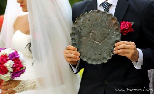 кованое солнышко на свадьбе