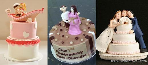 торт на первую годовщину