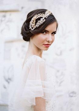 свадебная прическа в ретро-стиле
