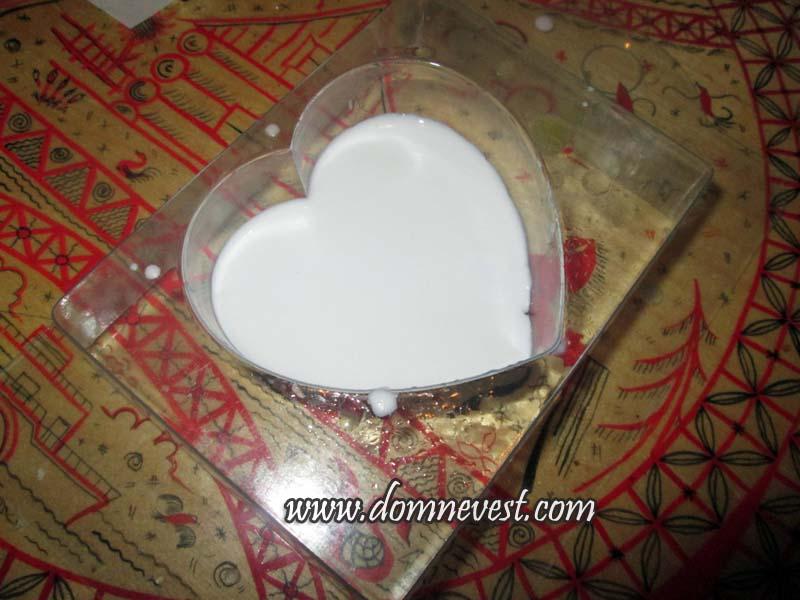 изготовление мыла в форме сердца
