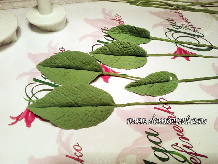 листья для свадебного букета