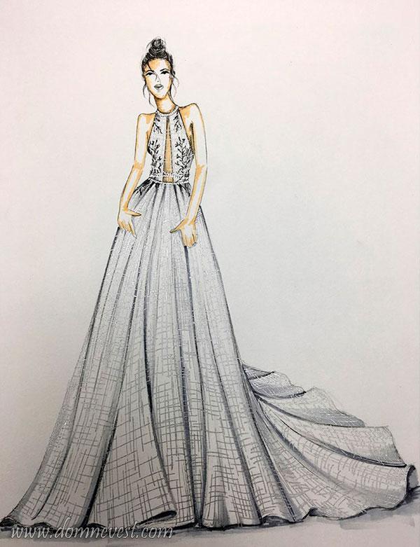 свадебное платье BERTA 2018
