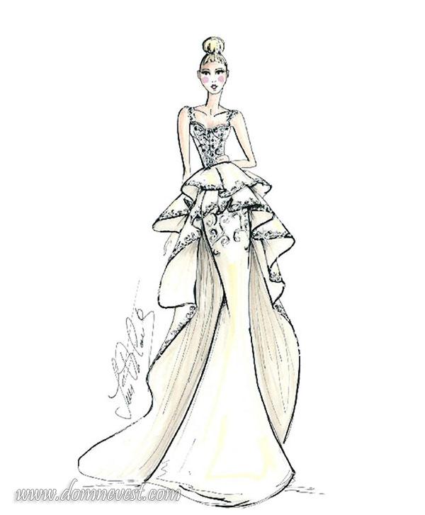 свадебное платье Ines Di Santo 2018