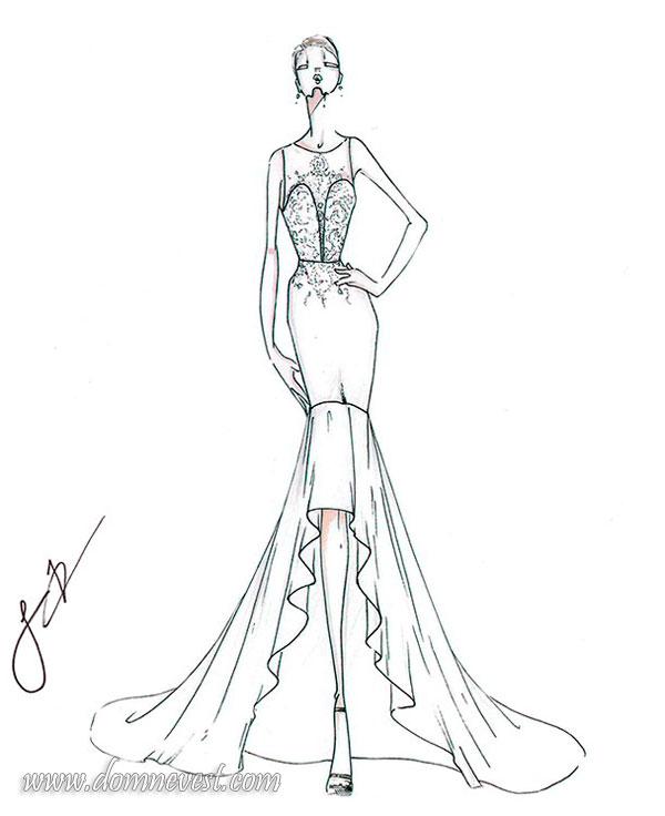 свадебное платье Justin Alexander 2018