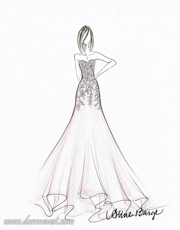 свадебное платье anne barge 2018