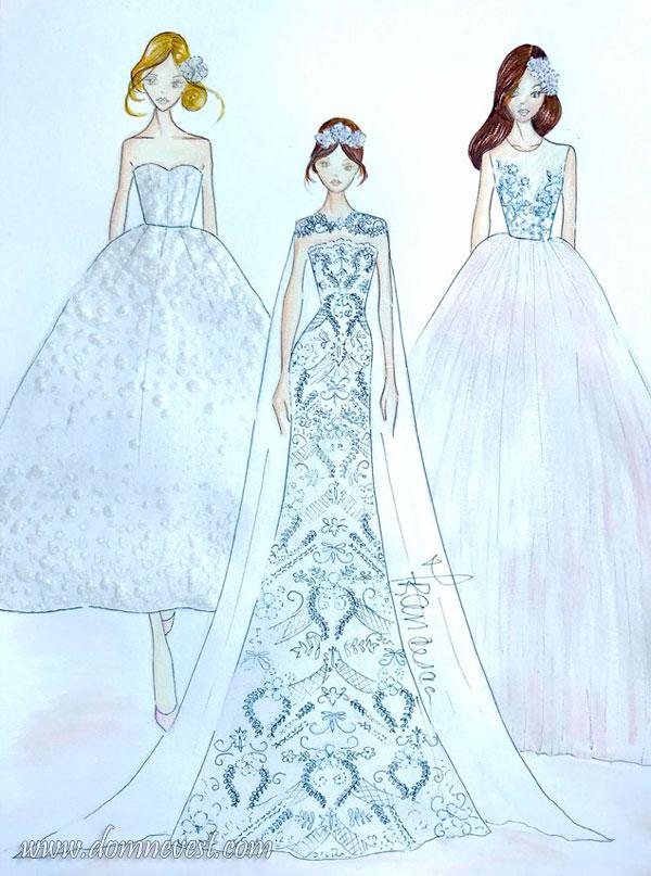 свадебные платья francesca miranda 2018