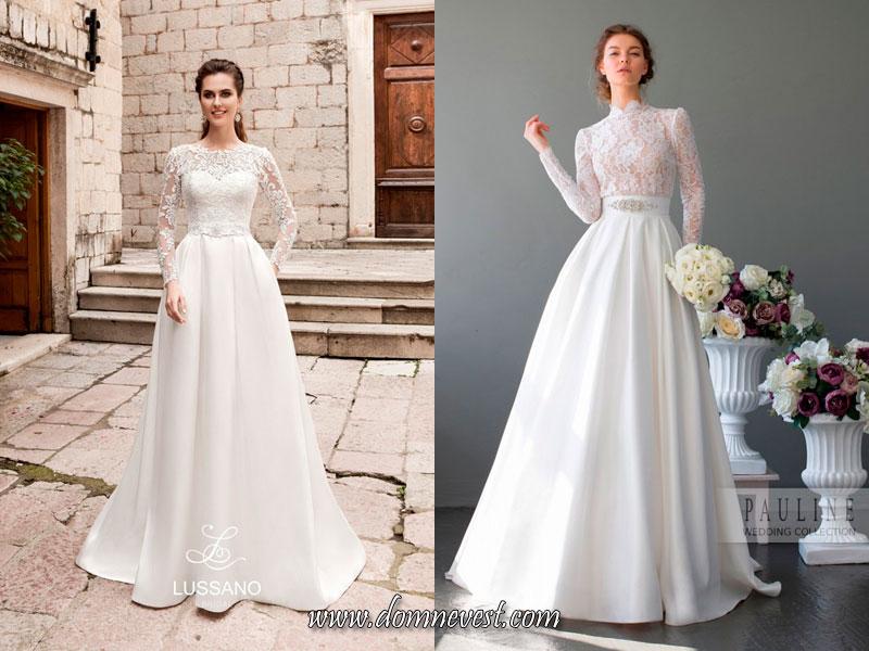 свадебные платья в стиле Грейс Келли 2017 2018