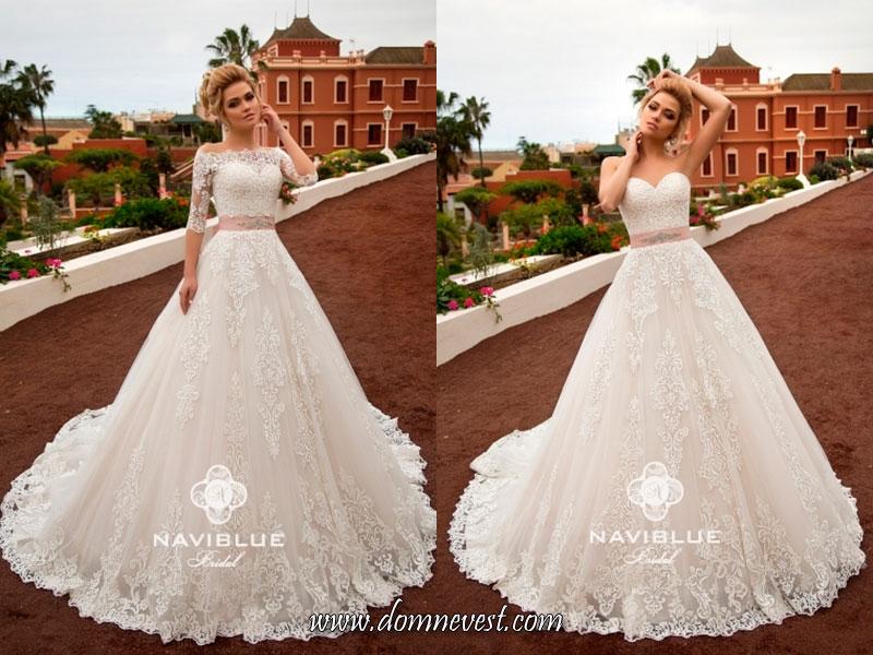 свадебные платья со съемными рукавами
