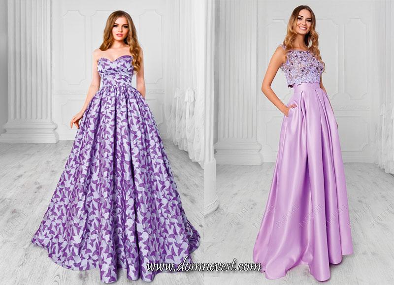 скромные платья для подружек невесты