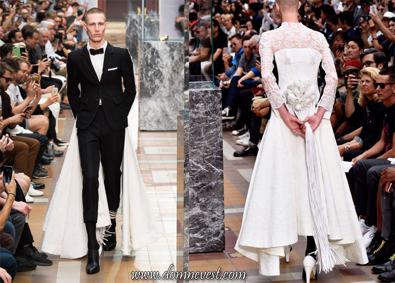шокирующий костюм жениха 2018