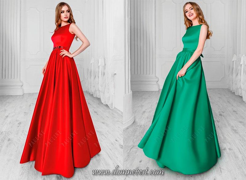 элегантные длинные платья для подружек невесты