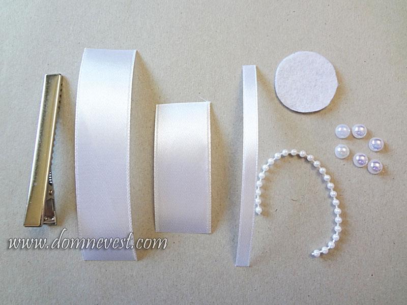 материалы для изготовления бутоньерки