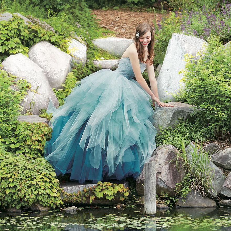 свадебное платье в стиле Ариэль