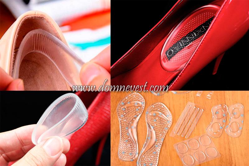 силиконовые вкладки для обуви