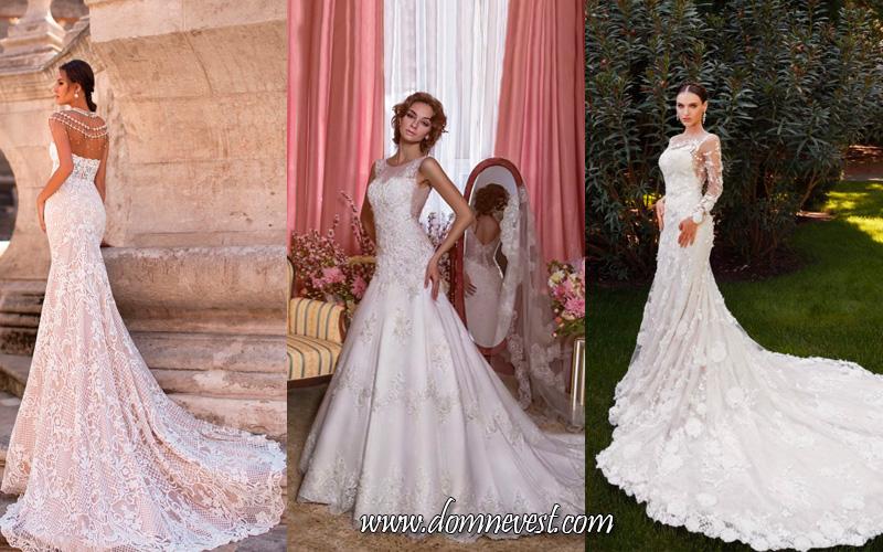 свадебные платья в стиле Fit-and-flare