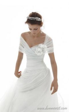 свадебное платье для невест с маленькой грудью