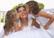 невеста и девочки
