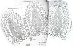 схемя вязаного платья 1