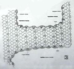 схема вязаного платья 3