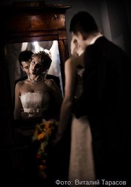 свадебная фотосессия  дома