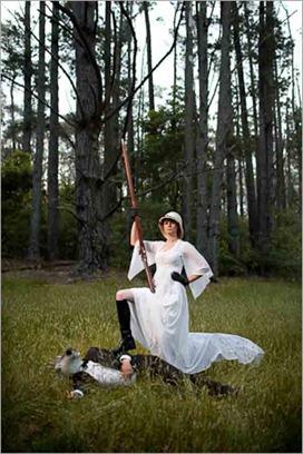 Trash the Dress: Buck Hunting