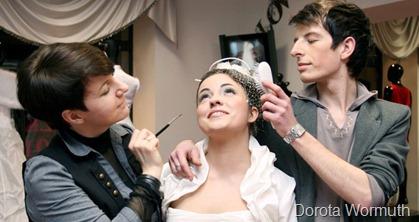 свадебный парикмахер и визажист