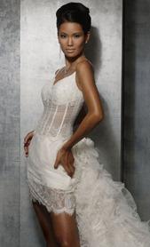 нижнее белье под прозрачное свадебное платье