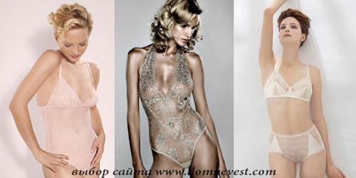 прозрачное нижнее белье под свадебное платье