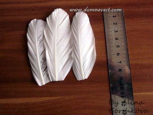 перья для украшения