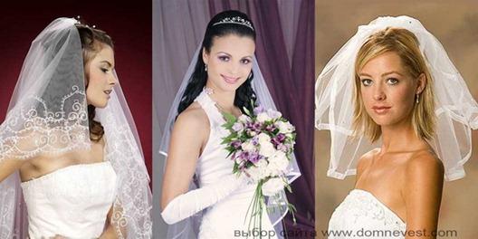 свадебные прически для длинных волос с фатой