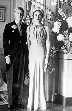 свадьба герцога и герцогини Виндхдорских в 1937 году