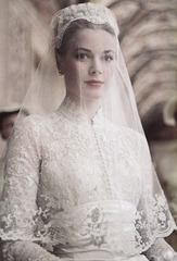 Грейс Келли свадебное платье